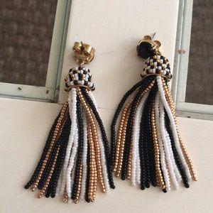 J. Crew Jewelry - J Crew beaded Earrings